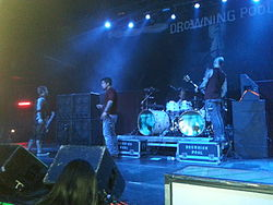 i Drowning Pool in un concerto del 2014