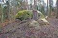 Druidenstein (Mäbenberger Wald), Westansicht.jpg