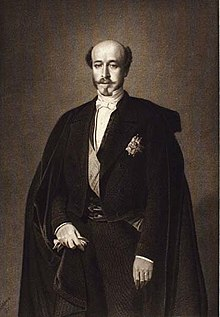 Portrait du duc de Morny.