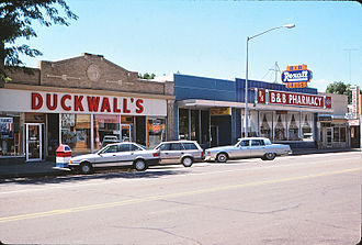 ALCO Stores - Duckwall's variety store photographed in Brush, Colorado, in 1991.