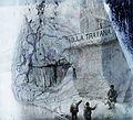 Duna, a Vaskapu-szoros, Traianus császár táblája. Fortepan 86997.jpg