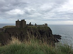 Dunnotar Castle with clouds.jpg
