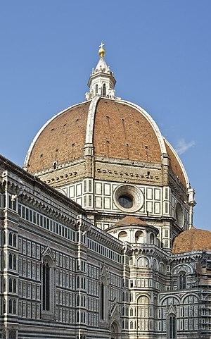Français : La coupole de Brunelleschi vue du c...