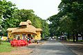 Durga Puja Pandal - Biswamilani Club - Padmapukur Water Treatment Plant Road - Howrah 2013-10-14 3456.JPG