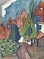 Dutch Houses by Dorrit Black, c. 1929, color linocut.jpg