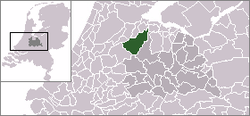 Location of De Ronde Venen
