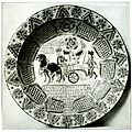 Dutch sgraffito pottery dish from Annual report of the Philadelphia Museum of Art (1906).jpg