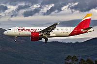 EC-LVQ - A320 - Iberia Express