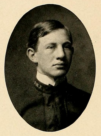 Hammond Johnson - Johnson pictured in The Bomb 1904, VMI yearbook