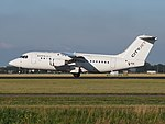 EI-RJI Cityjet British Aerospace Avro RJ85 cnE2346 takeoff from Schiphol (AMS - EHAM), The Netherlands pic2.JPG