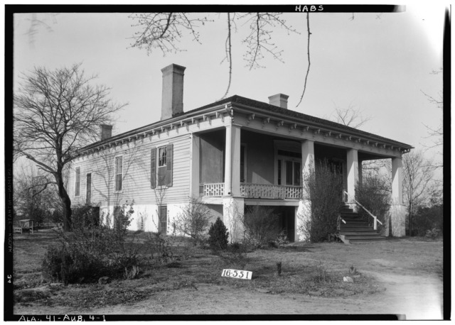 File:EXTERIOR (FRONT). - Cauthen House, East Drake Avenue ...