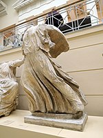 East P. of the Parthenon 06. Iris - casting in Pushkin museum 01 by shakko.jpg