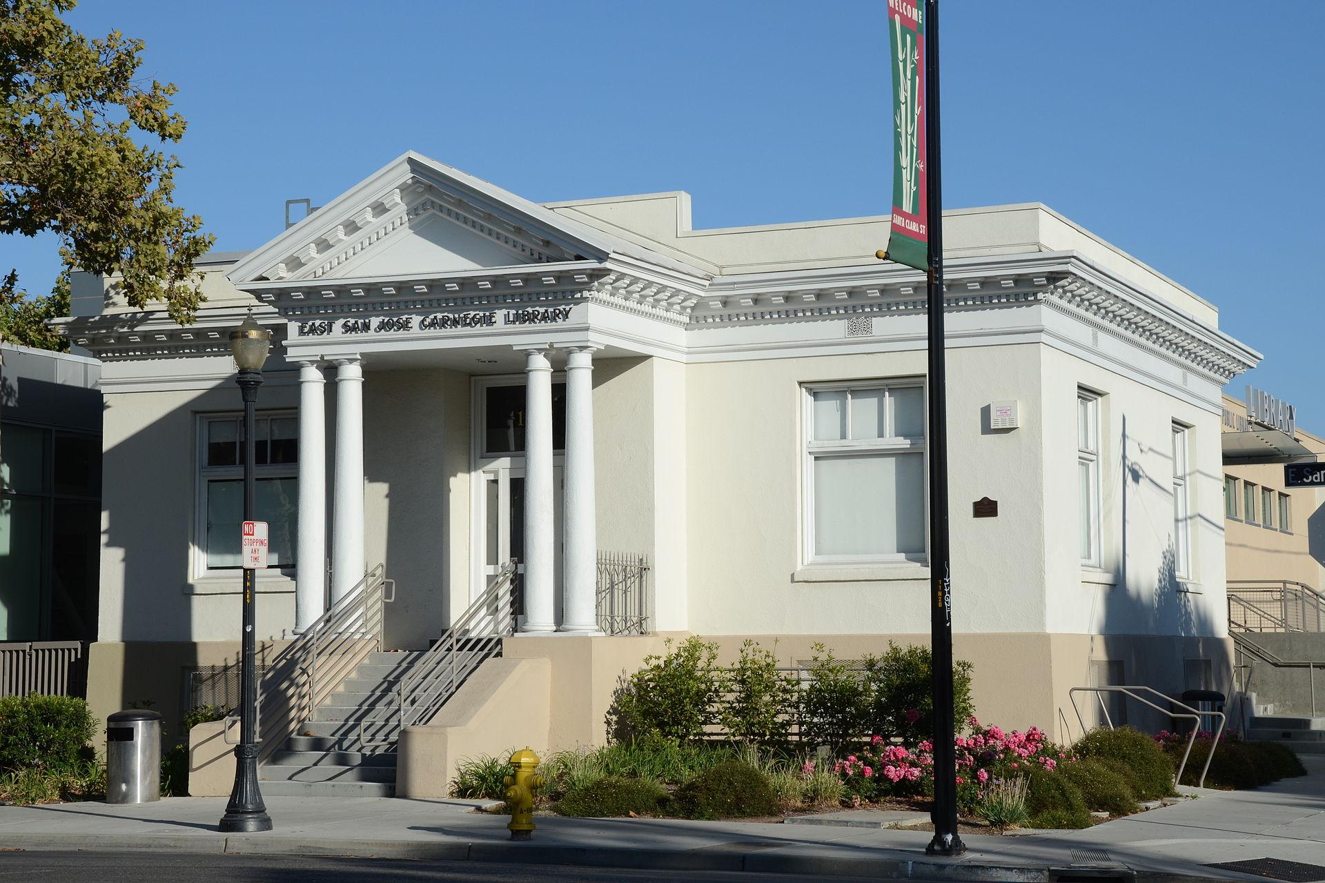 East San Jose Carnegie Branch Library - Wikipedia