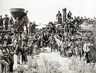 First transcontinental railroad First US railroad to connect the Pacific coast to the Eastern states, built from 1863 to 1869