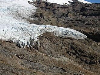 Glacier terminus - A glacial terminus