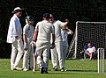 Eastons CC v. Chappel and Wakes Colne CC at Little Easton, Essex, England 45.jpg