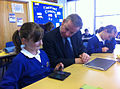 Education minister at Sprites Primary.jpg