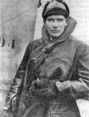 """Arras Flying Services Memorial - Flying ace Edward """"Mick"""" Mannock is credited with 61 aerial victories."""