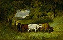 Edward Mitchell Bannister - Driving Home the Cows - 1983.95.58 - Smithsonian American Art Museum.jpg