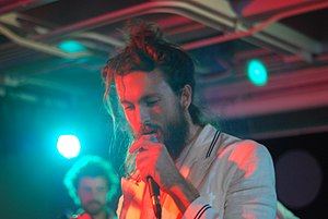 Alex Ebert - Alex Ebert performing with Edward Sharpe and the Magnetic Zeros in 2009.