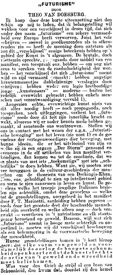 Eenheid no 127 Futurisme column 1.jpg