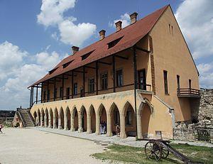 Eger, gothic episcopla palace