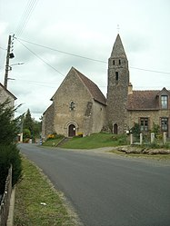 The church of the hamlet of Loges