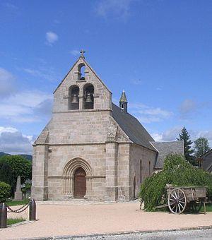 Ambrugeat - Image: Eglise d'Ambrugeat