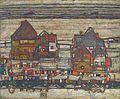 Egon Schiele - Häuser mit bunter Wäsche (1914).jpg