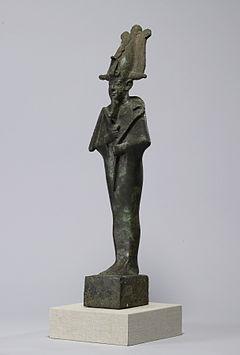 RA personnage avec sceptre-égyptien Dieu Soleil Déco Statue