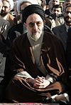 Eid al-Fitr prayers in Tehran - November 4, 2005 (Cropped on Khatami).jpg