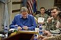 Eikenberry, Holbrooke visit NATO Training Mission - Afghanistan headquarters (4727268662).jpg