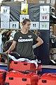 Einkleidung der deutschen Olympiamannschaft Rio 2016 Medientag Hannover 0412.jpg