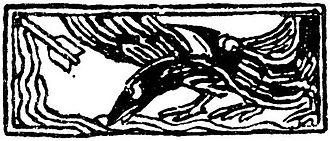 Vignette (graphic design) - Eiriksonnenes saga - vignett 1 - G. Munthe