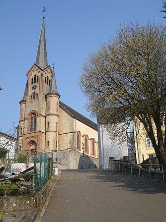 Eischen - The church