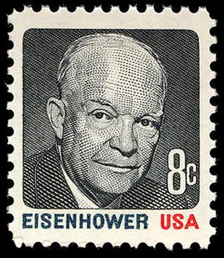 Eisenhower multi 1971 Issue-8c