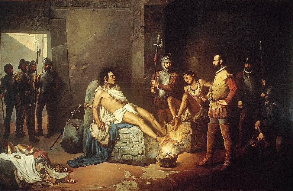 El suplicio de Cuauhtémoc