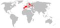Eliomys quercinus range map.png