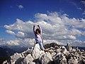 Elisa-la mia prima cima,Corno Bianco m 2313 - panoramio.jpg