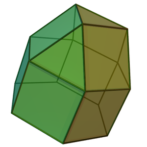 Elongated triangular cupola - Image: Elongated triangular cupola