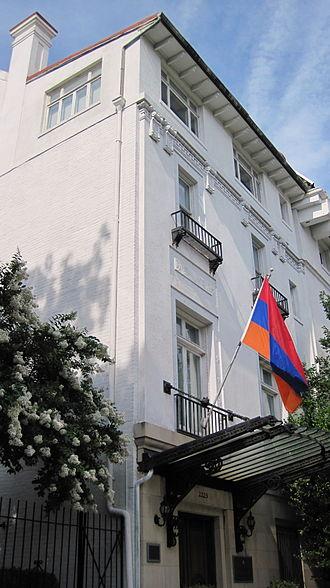Armenia–United States relations - Embassy of Armenia in Washington, D.C.