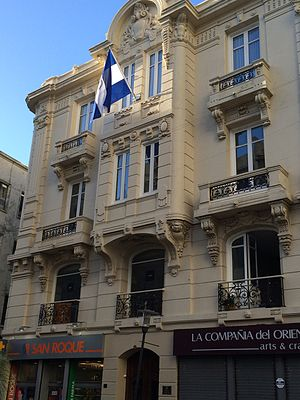 Foreign relations of Nicaragua - Embassy of Nicaragua in Montevideo