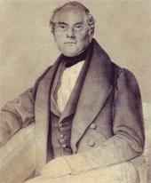 Emil Reiniger (Lithographie um 1840) (Quelle: Wikimedia)