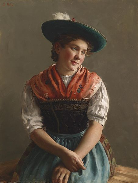 fileemil rau dirndl in sonntagstrachtjpg wikimedia commons