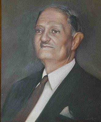 Khaled Chehab - A painting of Emir Khaled Chehab