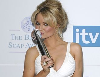Emma Rigby - British Soap Awards 2008