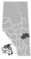 Endiang, Alberta Location.png