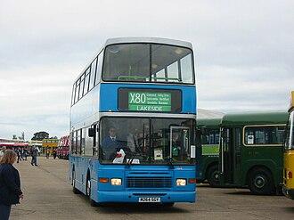 Ensignbus - Alexander Royale Volvo Olympian in 2004