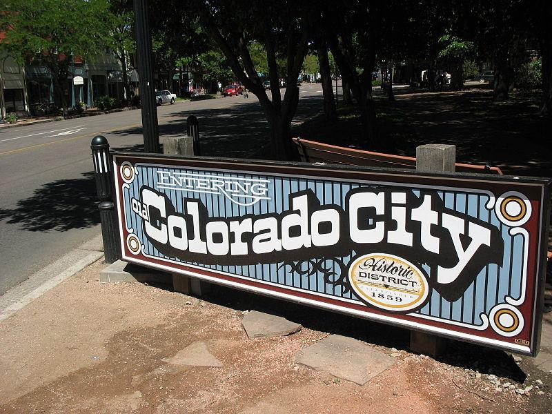 File:Entering Colorado City sign.jpg