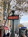 Entrée Station Métro Porte Vanves Paris 2.jpg